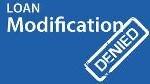 Modification denied
